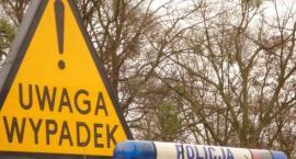 Duży wypadek pod Toruniem. Cztery osoby ranne, wśród poszkodowanych dzieci