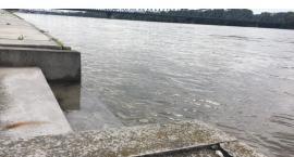 Stan pogotowia przeciwpowodziowego w Toruniu. Apel prezydenta Zaleskiego [FOTO]