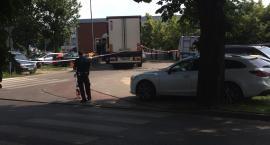 Wypadek w Toruniu. Potrącony rowerzysta był reanimowany [FOTO]