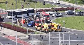 Wypadek w Toruniu. Dwie osoby trafiły do szpitala!