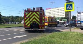 Uwaga kierowcy! Wypadek na Alei 700-lecia w Toruniu [FOTO]