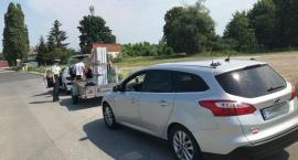 Interwencja inspektorów GITD w Toruniu. Pasażer musiał przesiąść się do autobusu [FOTO]