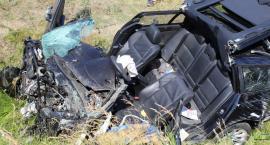 O krok od tragedii. Kierowca BMW przeszarżował na autostradzie A1 [FOTO]