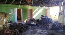 Biblioteka w Ostaszewie zostanie odbudowana po pożarze