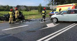 Wypadek na trasie Toruń - Bydgoszcz. Jedna osoba w szpitalu! [FOTO]
