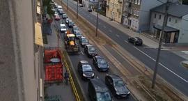 Uwaga kierowcy! Komunikacyjny paraliż w kierunku Rubinkowa