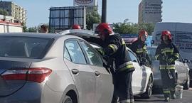 Wypadek na Grudziądzkiej. Trwa akcja służb ratunkowych [FOTO]
