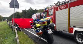 Tragiczny wypadek na trasie Toruń - Bydgoszcz [FOTO]