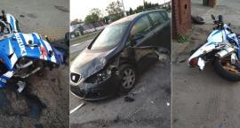 W Toruniu pięć pojazdów zderzyło się w pobliżu sali zabaw! [FOTO]