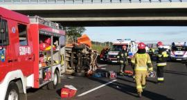 Dramatyczna akcja ratunkowa na autostradzie A-1 [FOTO]