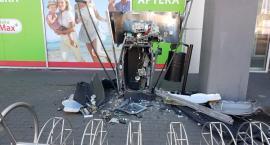 W Toruniu wybuchł bankomat wypełniony pieniędzmi!