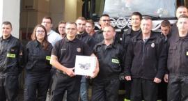 Strażakom ochotnikom z Obrowa będą pomagać nowoczesne drony [FOTO]