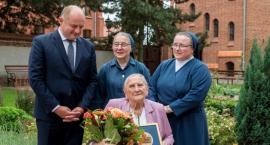 108-letnia Elżbieta Rogala uhonorowana medalem Unitas Durat