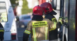 Płonie miejskie wysypisko śmieci w Toruniu. Trwa akcja strażaków [PILNE]