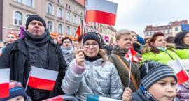 Tak w Toruniu świętowaliśmy odzyskanie niepodległości [FOTO]