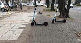 W Toruniu zostaną wprowadzone mandaty za złe parkowanie e-hulajnóg!?