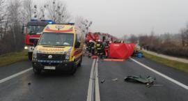Dwaj bracia jechali do pracy. Zginęli w wypadku pod Toruniem [FOTO]