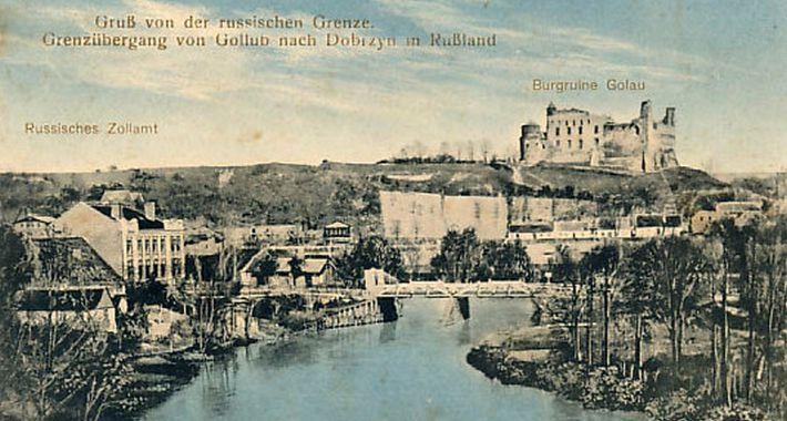 Ciekawostki, Granica rzece - zdjęcie, fotografia