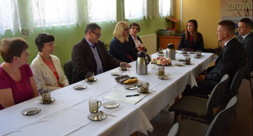 Oświata, dyrektorzy szkół - zdjęcie, fotografia