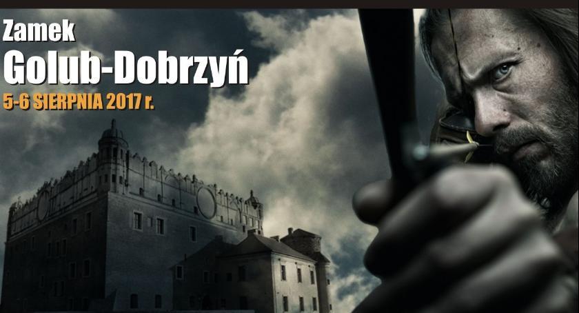 Zamek w Golubiu-Dobrzyniu, Święto łuczników - zdjęcie, fotografia