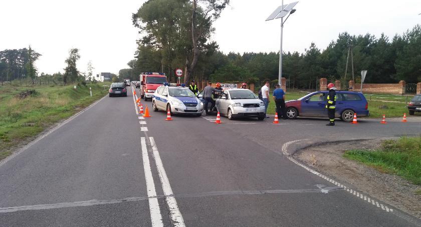 Wypadki, Kolejny wypadek Szafarni - zdjęcie, fotografia