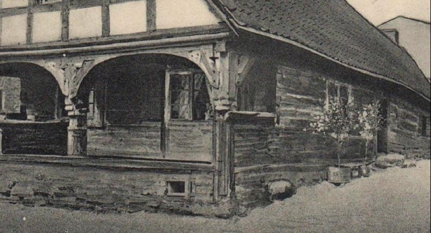 Ciekawostki, Było domek podcieniami - zdjęcie, fotografia