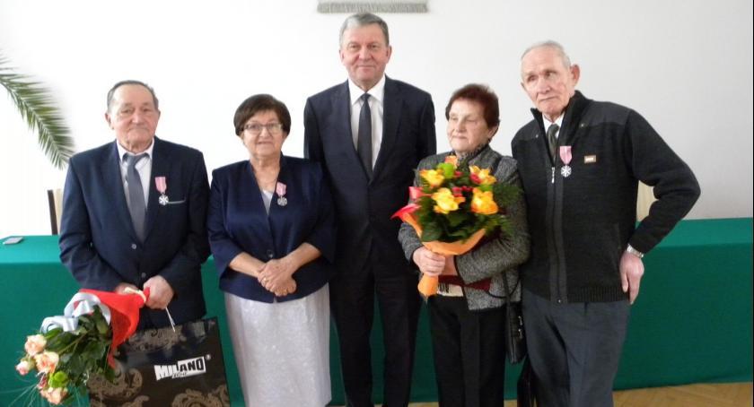 Wydarzenia lokalne, Medale złoty jubileusz - zdjęcie, fotografia