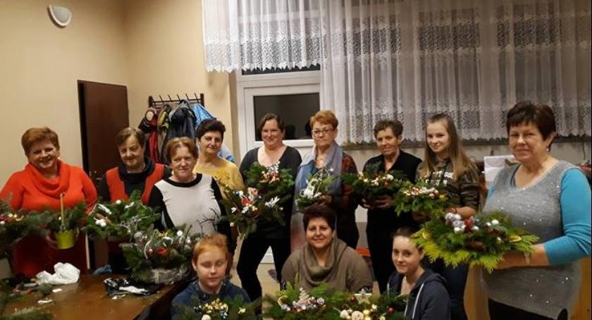 Wydarzenia lokalne, opłatku robótkach gminie Golub Dobrzyń - zdjęcie, fotografia