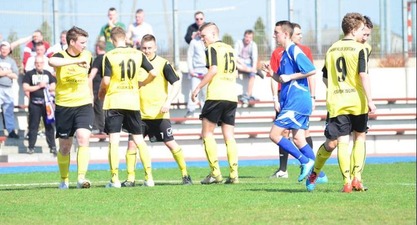 Piłka nożna, Sportowe plany Zbójnie - zdjęcie, fotografia