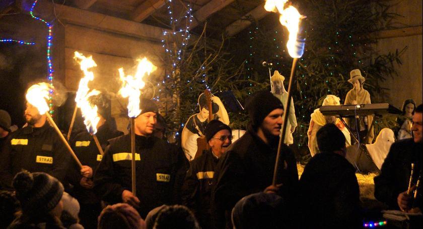 Wydarzenia lokalne, Wielkim Rychnowie świętowali strażacku - zdjęcie, fotografia