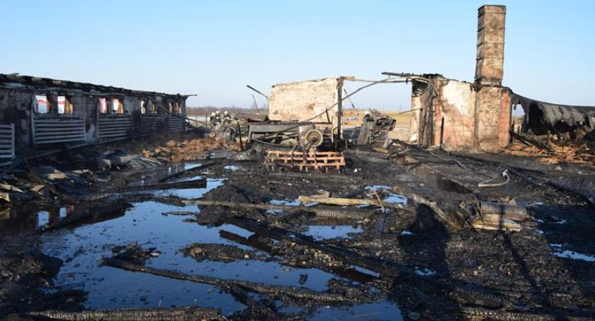 Pożary, Gigantyczny pożar Bielsku - zdjęcie, fotografia