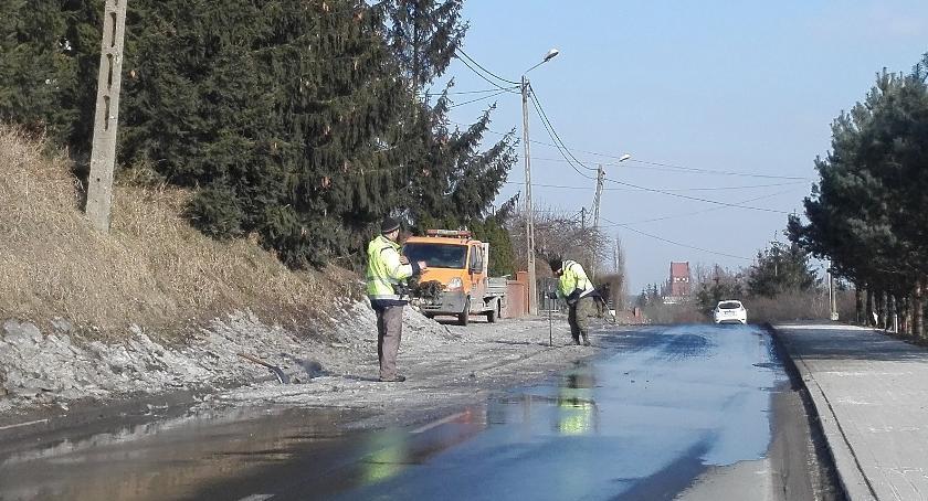 Interwencje, Niebezpiecznie Toruńskiej - zdjęcie, fotografia