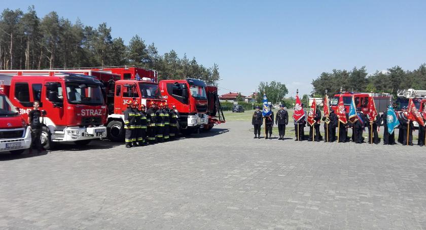 Wydarzenia lokalne, Strażacy świętowali - zdjęcie, fotografia