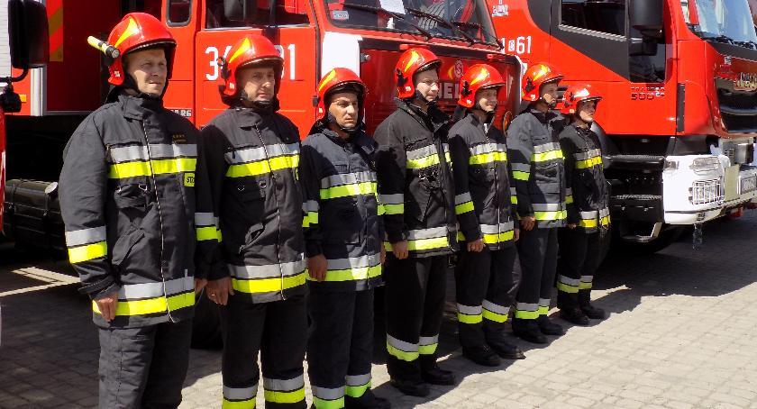 Wydarzenia lokalne, Uhonorowali najlepszych strażaków - zdjęcie, fotografia