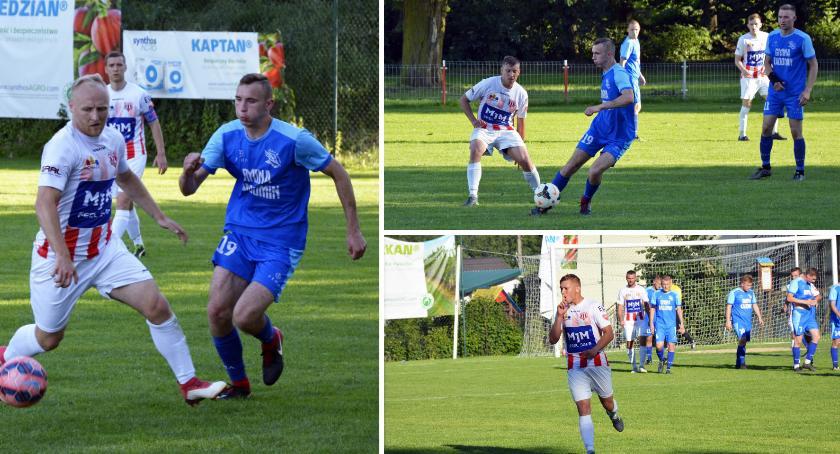 Piłka nożna, Sokół Radomin mecze punktów - zdjęcie, fotografia