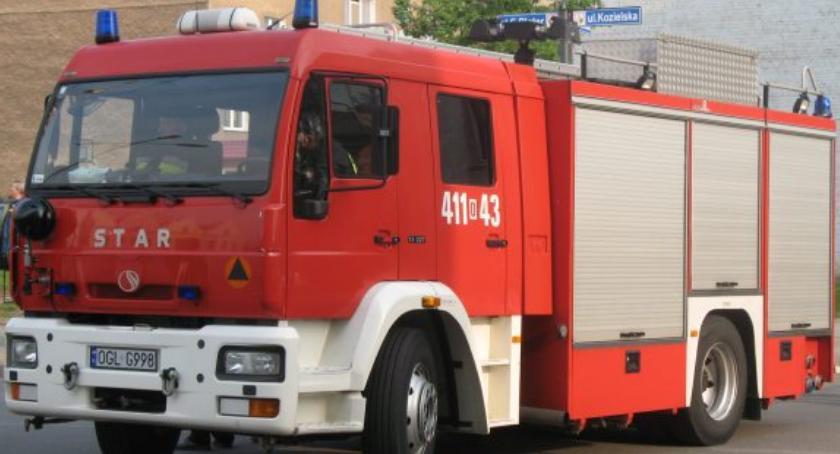 Ochotnicza Straż Pożarna, Pomoc strażaków gminy Golub Dobrzyń - zdjęcie, fotografia