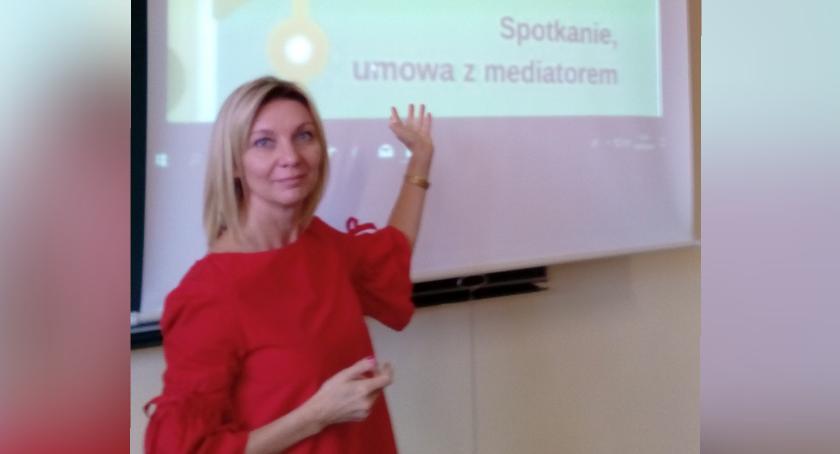 Wywiady, Mediacja zamiast sądu rozmowa Beatą Kowalską - zdjęcie, fotografia