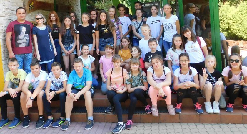 Edukacja, Ekologiczny wyjazd uczniów Płonnego - zdjęcie, fotografia