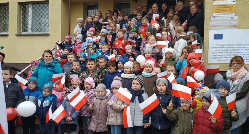 Wydarzenia lokalne, znaczeniu patriotyzmu Radominie - zdjęcie, fotografia