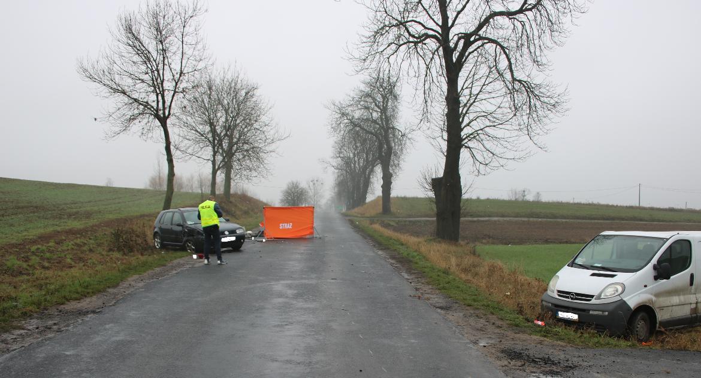 Wypadki, Tragedia Zbójnie! żyje letnia rowerzystka - zdjęcie, fotografia