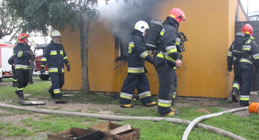 Pożary, Pożar Szychowie - zdjęcie, fotografia