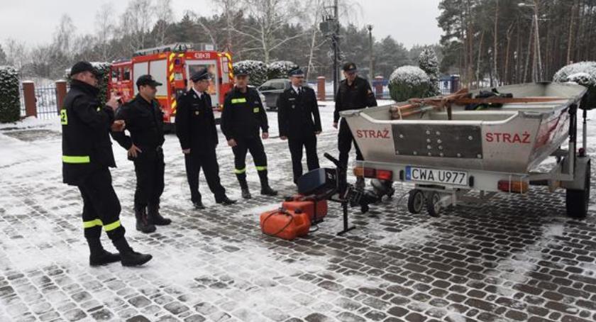Ochotnicza Straż Pożarna, Elgiszewo łódź - zdjęcie, fotografia