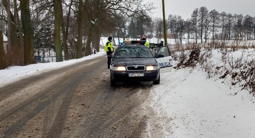 Komunikaty i profilaktyka, Kaskadowy pomiar prędkości drogach powiatowych - zdjęcie, fotografia