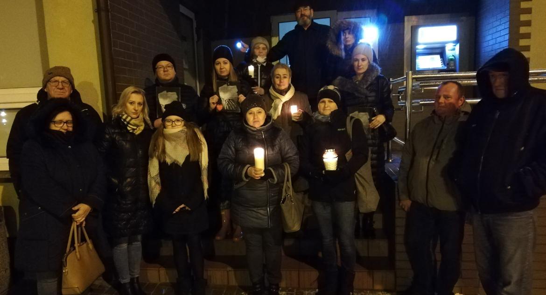 Wydarzenia lokalne, Marsz przeciw przemocy Golubiu Dobrzyniu - zdjęcie, fotografia