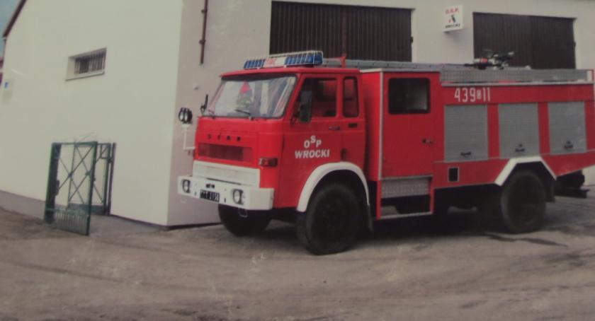 Ochotnicza Straż Pożarna, minęło Ochotnica Straż Pożarna Wrockach - zdjęcie, fotografia