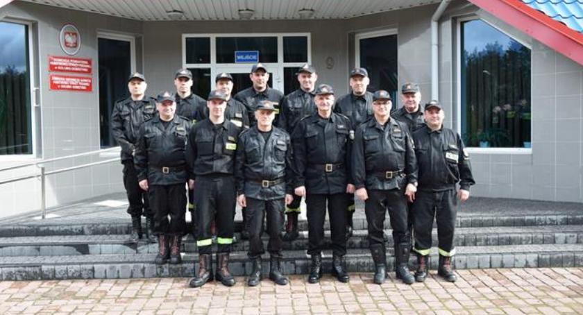 Państwowa Straż Pożarna, Wizyta Komendanta Głównego - zdjęcie, fotografia