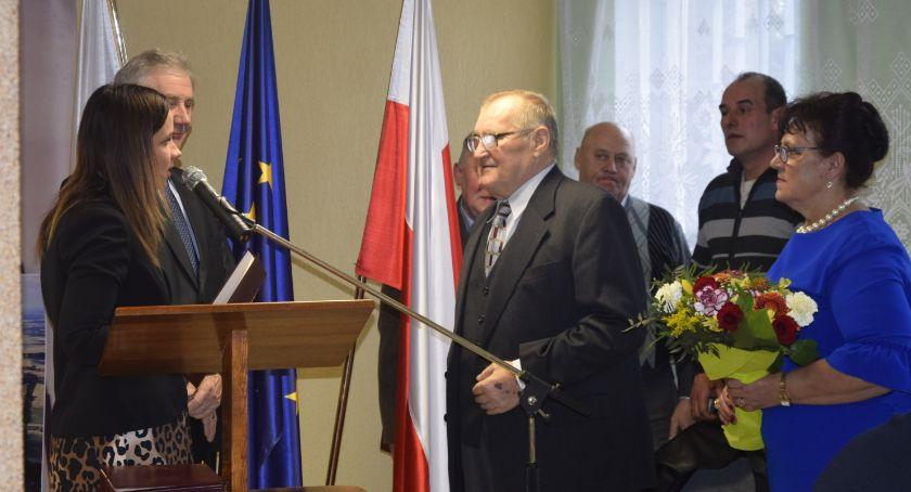 Samorządy Gminne, Podziękowania sołtysów - zdjęcie, fotografia