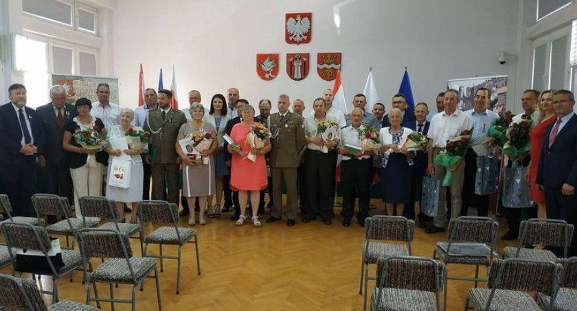 Samorząd Powiatowy, zasługi obronności - zdjęcie, fotografia