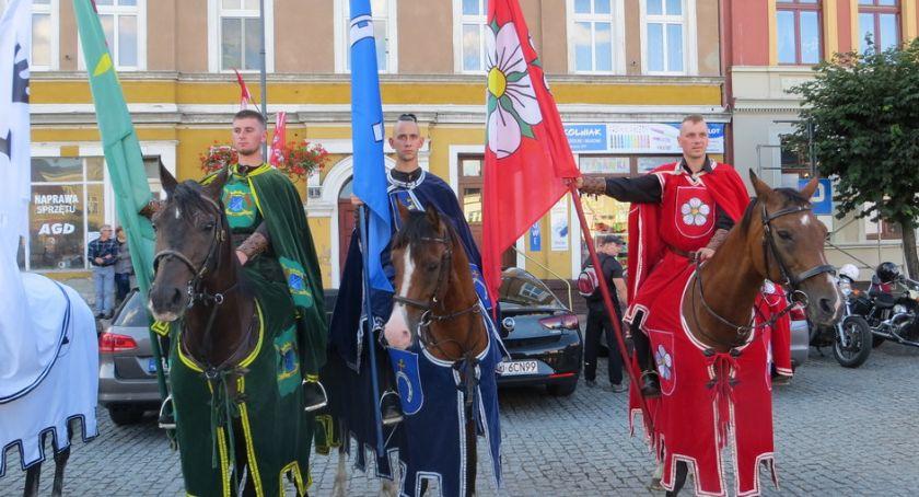 Zamek w Golubiu-Dobrzyniu, Pierwszy dzień turnieju rycerskiego [zdjęcia] - zdjęcie, fotografia