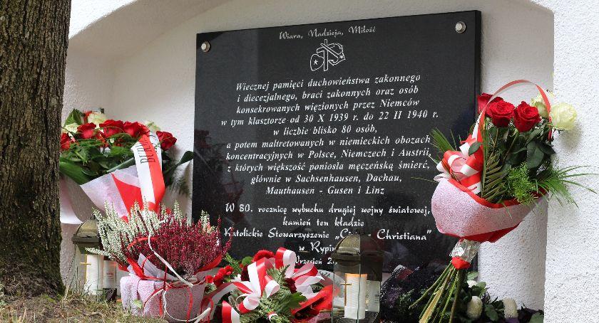 Wydarzenia lokalne, pamięci ofiarom zbrodni nazistowskich - zdjęcie, fotografia